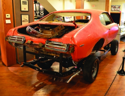 Partially Restored 1969 GTO Judge