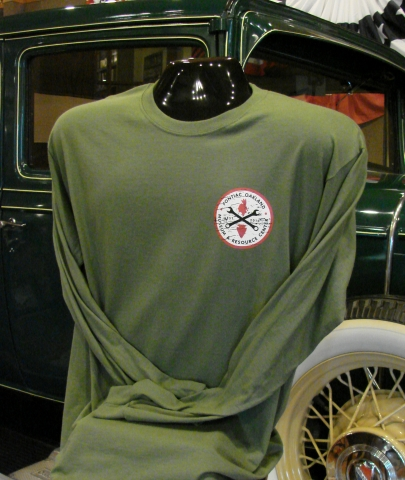 Pontiac Garage Long Sleeve in Military Green