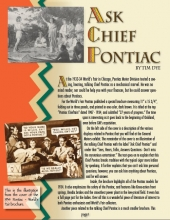 Ask Chief Pontiac