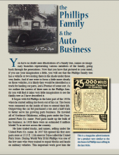 The Phillips Family & The Auto Business
