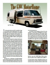 The GMC Motor Home