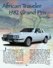 African Traveler 1982 Grand Prix
