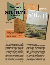 Pontiac's Safari Magazine