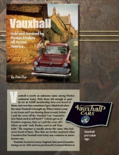 Vauxhall-Sold and Serviced by Pontiac Dealers All Across America