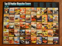 Top 50 Pontiac Magazine Covers Poster